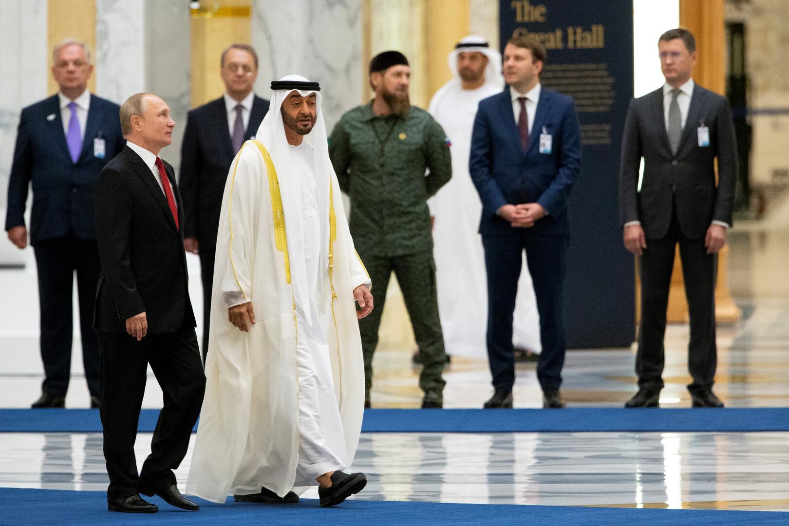 قديروف يكشف ما جرى خلف الأضواء خلال زيارة بوتين إلى السعودية والإمارات