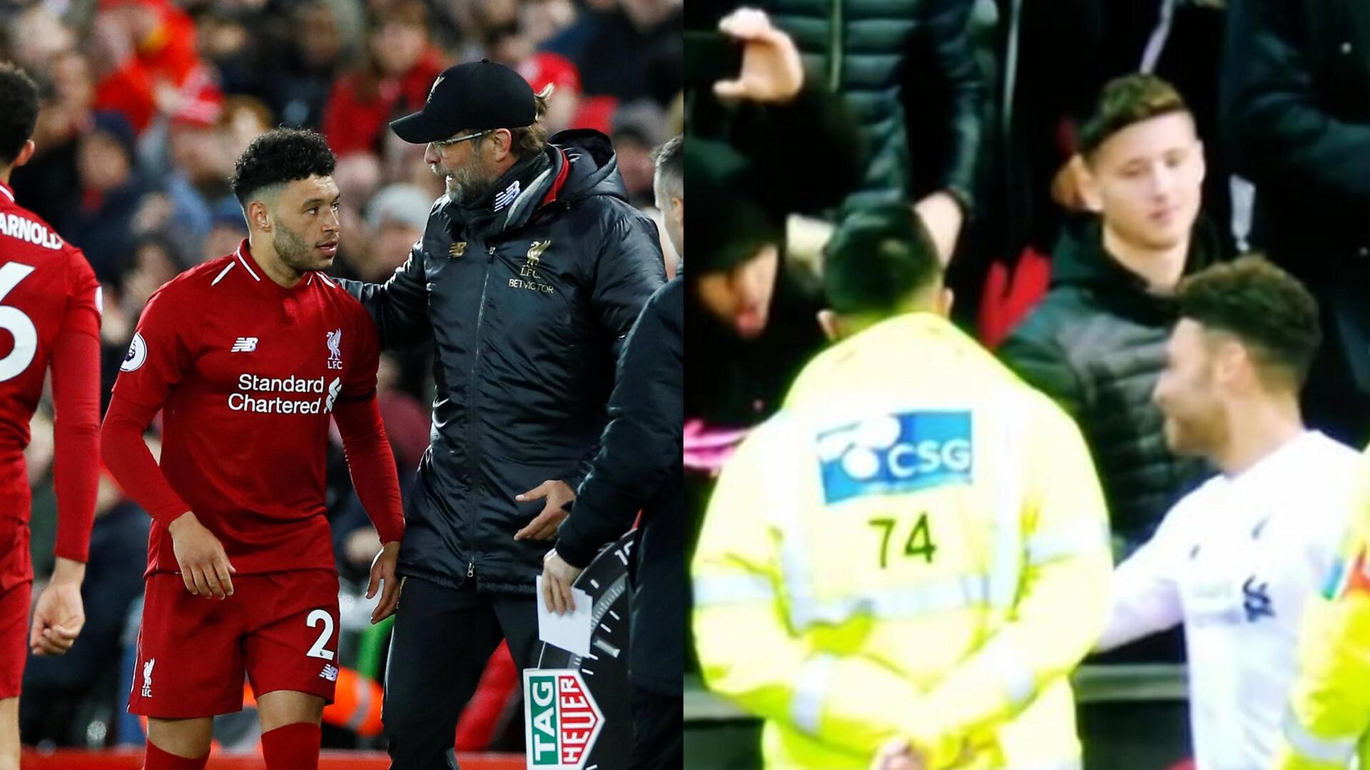 بالفيديو.. مشادة بين نجم ليفربول والجمهور عقب التعادل مع مانشستر يونايتد