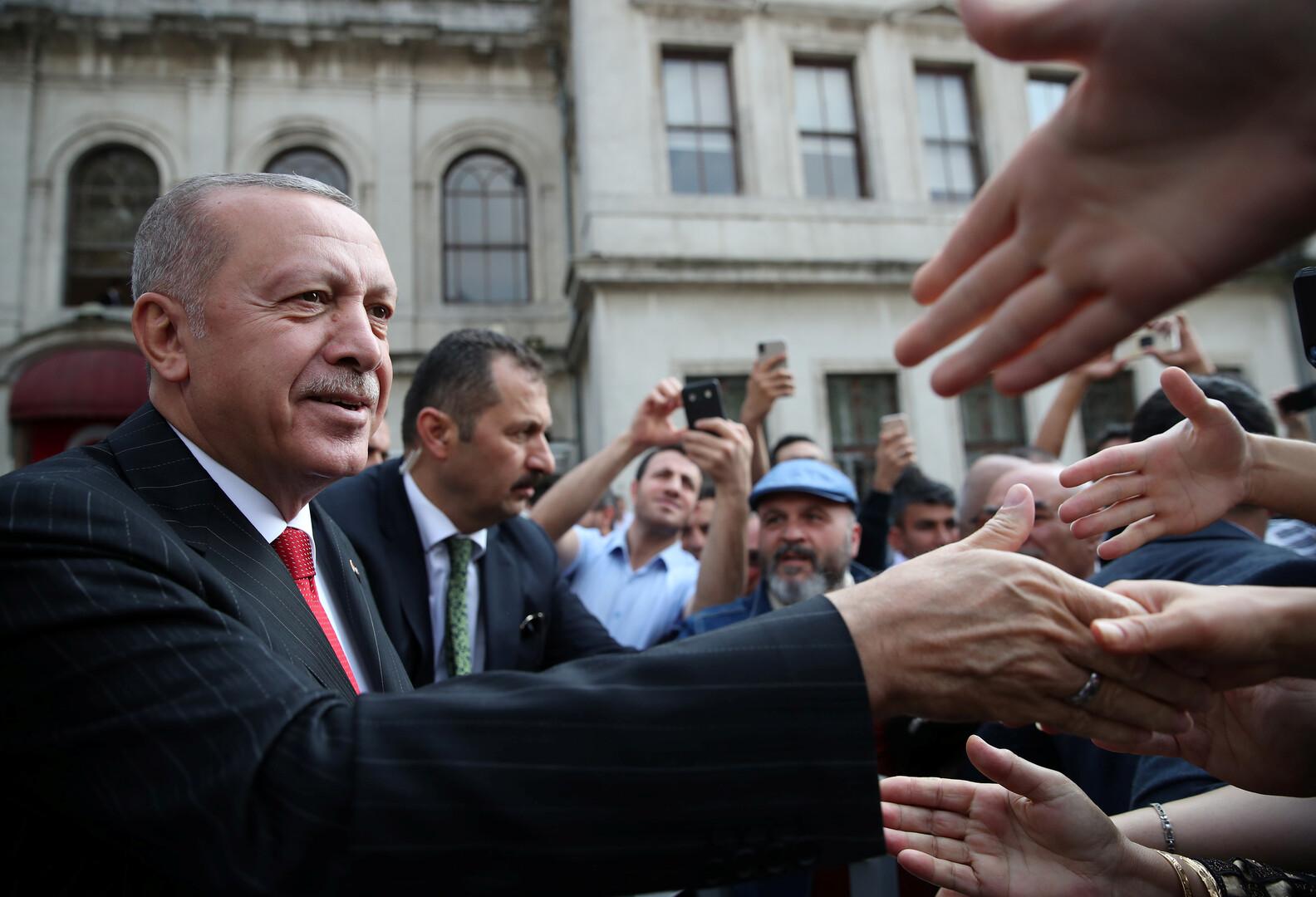 أردوغان: سأتخذ الخطوات اللازمة بشأن سوريا بعد اجتماعي مع بوتين