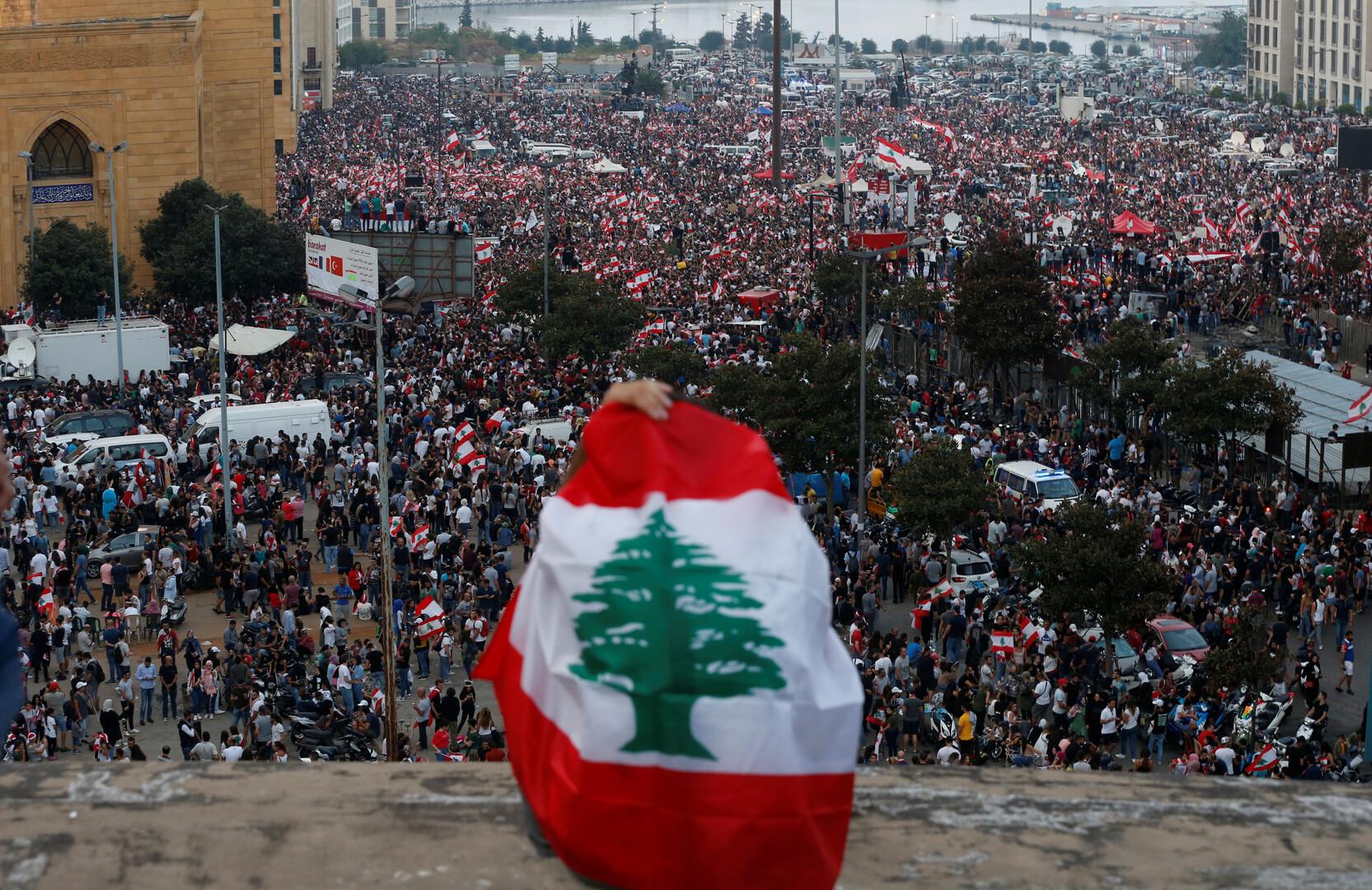 لبنان.. محتجون ضد الضرائب يهتفون لأردوغان!
