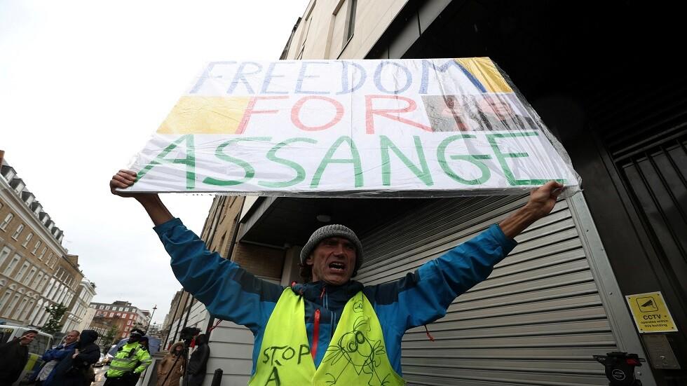 محكمة بريطانية: الجلسة التالية لمحاكمة أسانج في الـ18 من نوفمبر المقبل