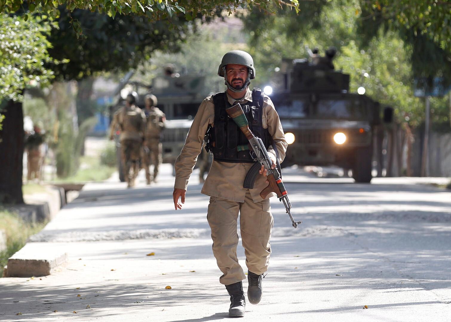 جندي من قوات الأمن الداخلي الأفغانية