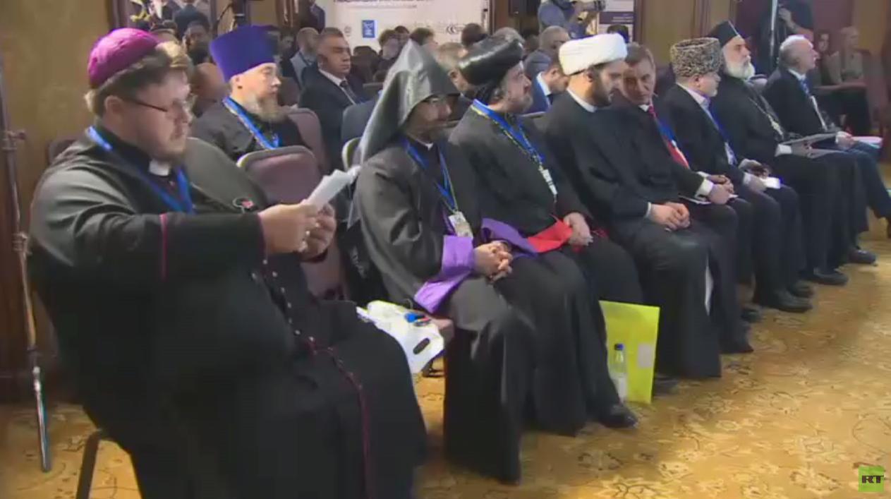 تواصل المنتدى المسيحي الدولي بموسكو