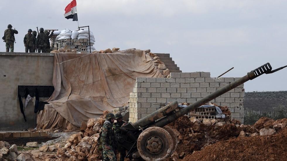 عناصر من الجيش السوري (أرشيف)