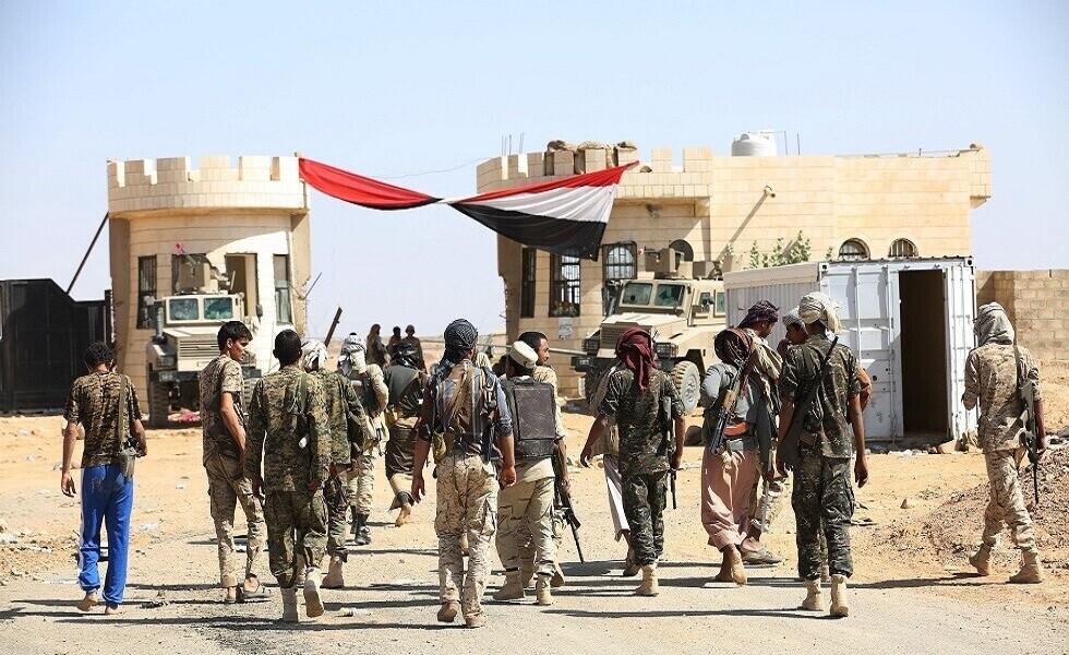 الجيش اليمني يلتف على