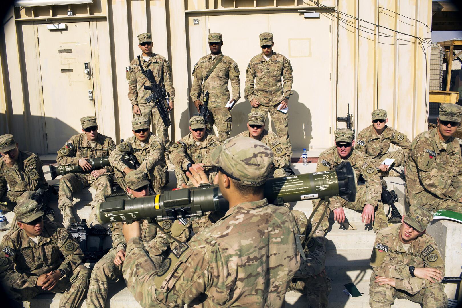 NBC: البنتاغون يعد خطة لإخراج جميع القوات الأمريكية من أفغانستان