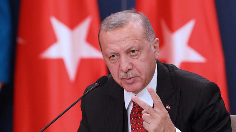 أردوغان ممتعض من