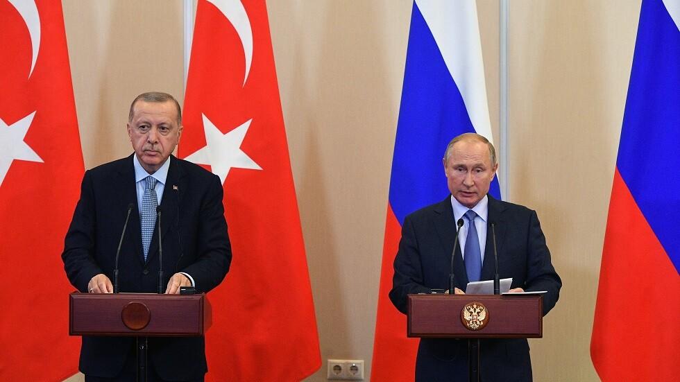 بوتين وأردوغان يتفقان على نشر الشرطة العسكرية الروسية شمال شرق سوريا