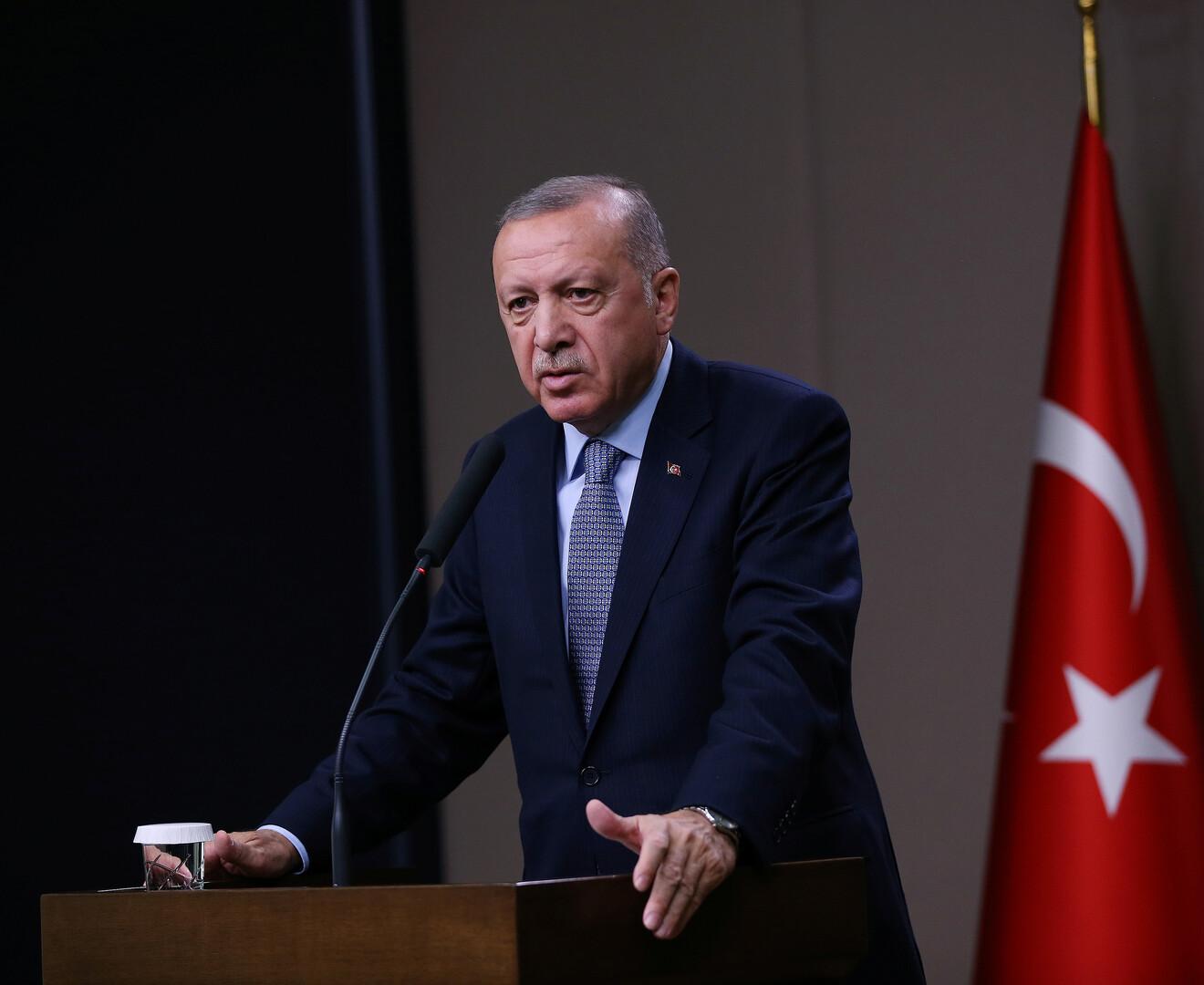 وسائل إعلام نقلا عن أردوغان: الولايات المتحدة لم تنفذ وعودها بشأن سوريا