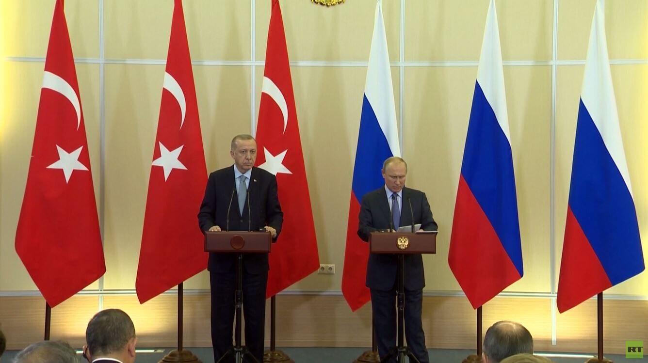 اتفاق روسي تركي حول شمال سوريا