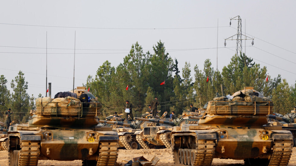 دبابات تركية على حدود سوريا (25 أغسطس 2016)