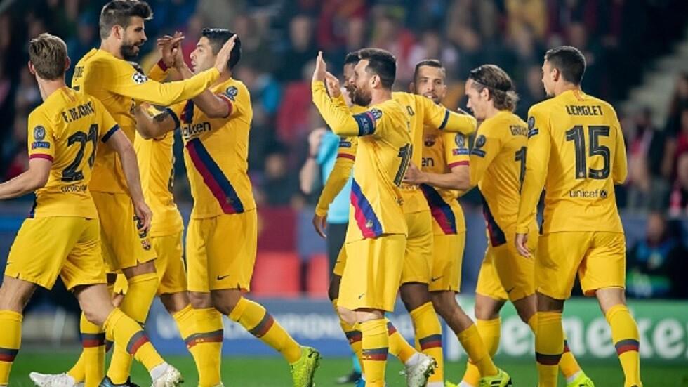 ميسي ينفرد برقم قياسي في دوري أبطال أوروبا (فيديو)