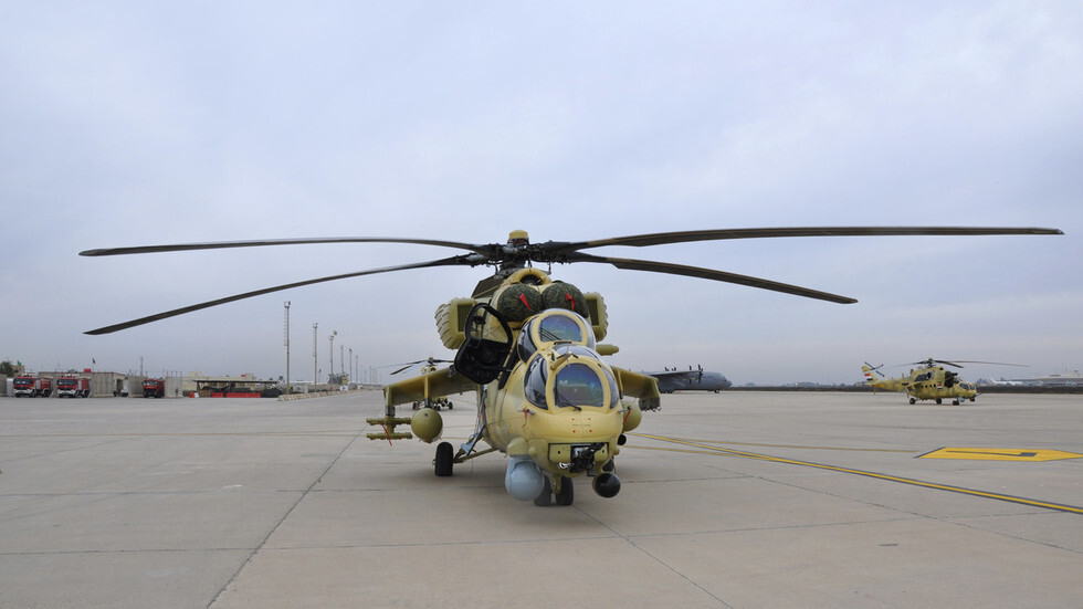 مروحية قتالية من طراز Mi-35