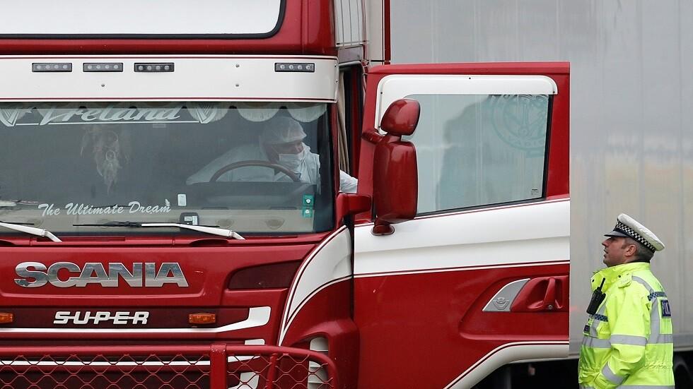 الشرطة البريطانية: ضحايا شاحنة لندن الـ39 جميعهم صينيون