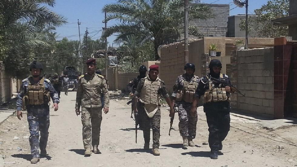 القوات العراقية في ديالى - أرشيف