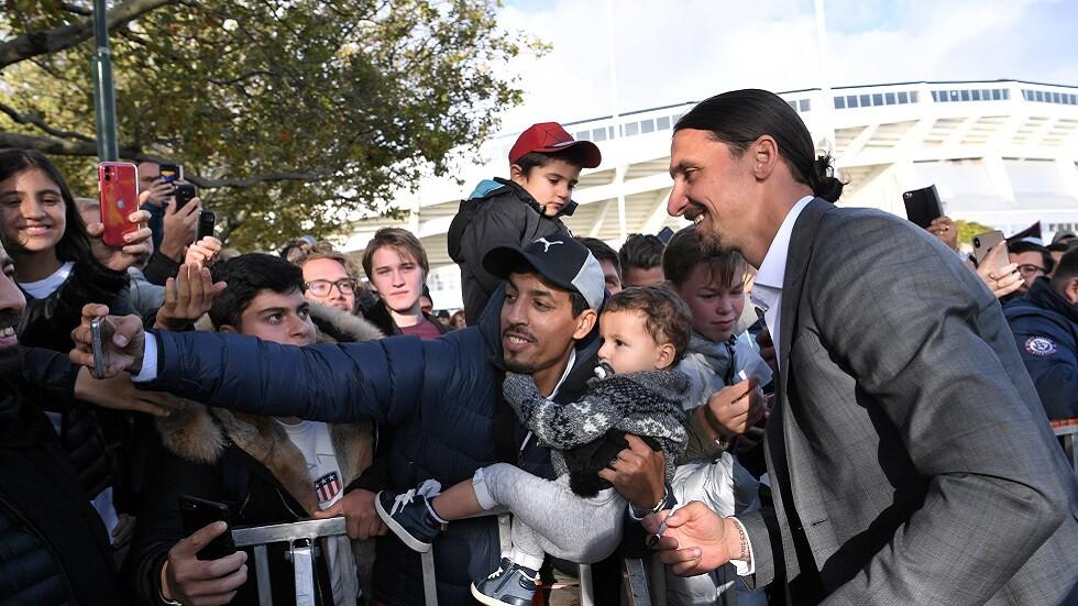 مفاوضات مستمرة لاستقدام إبراهيموفيتش إلى الدوري الإيطالي