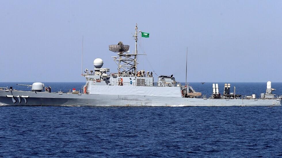 سفينة تابعة للبحرية السعودية - أرشيف
