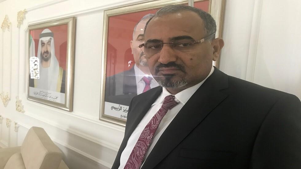 رئيس المجلس الانتقالي الجنوبي عيدروس الزبيدي