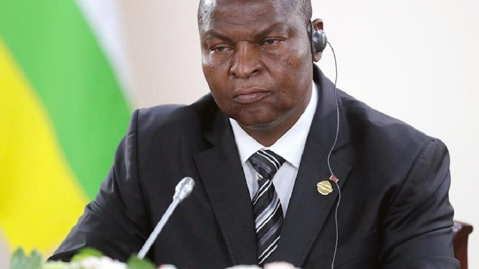 رئيس جمهورية إفريقيا الوسطى، فوستن أركانج تواديرا