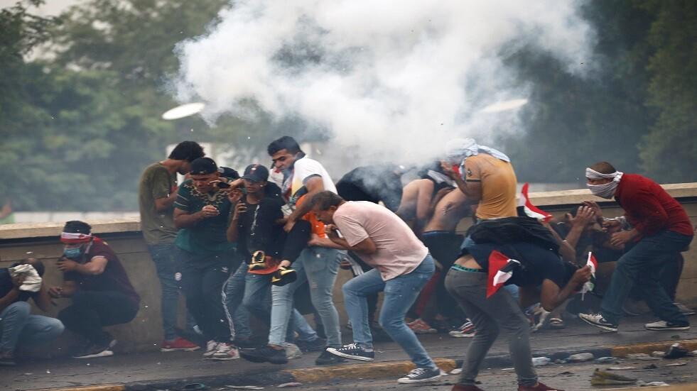 العراق.. إحصائية بأعداد ضحايا التظاهرات ومقار الأحزاب المحترقة