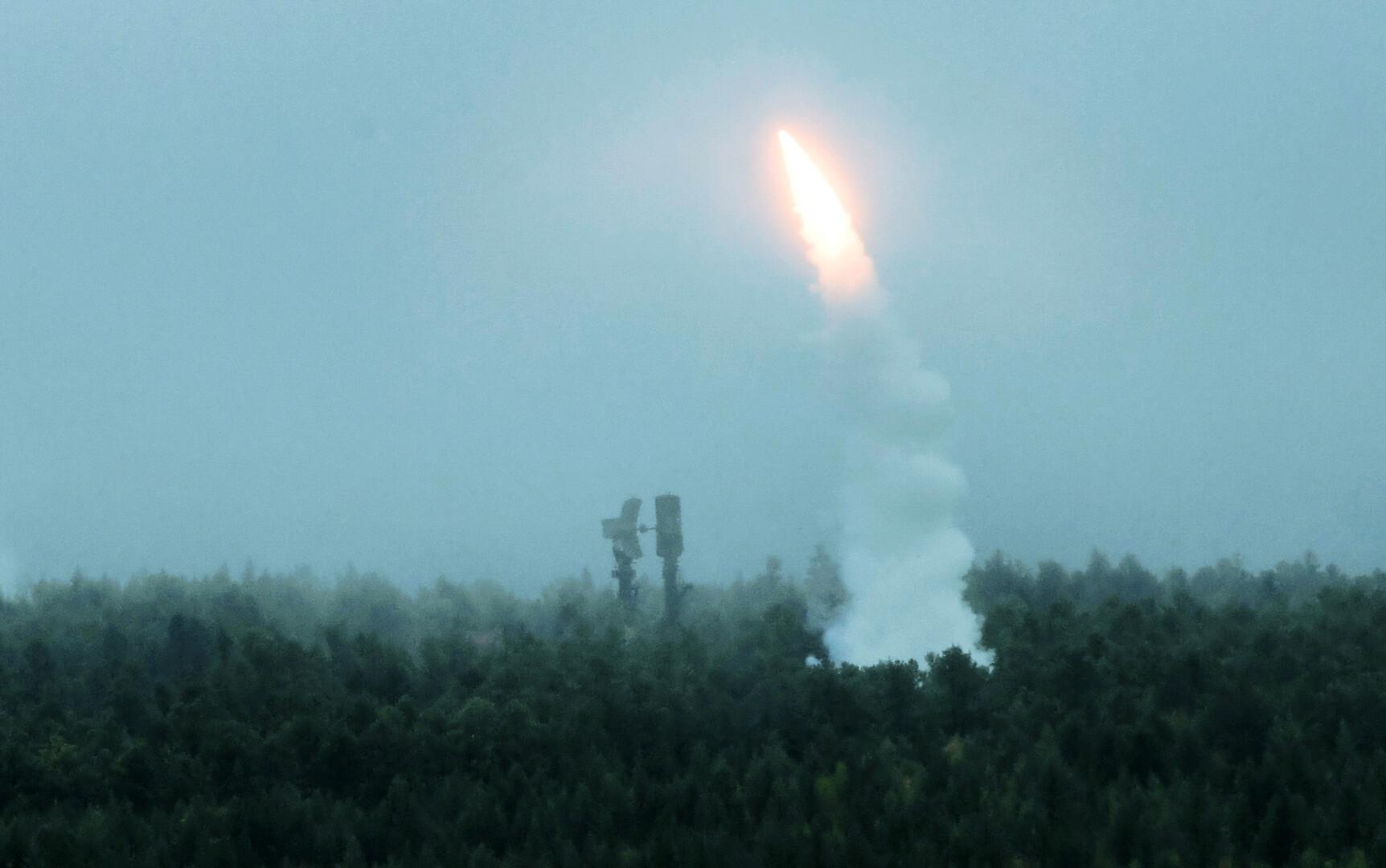 قوات الدفاع الجوي الروسية في بزة جديدة خلال مناورات هي الأولى من نوعها في مصر