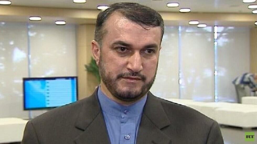 مستشار رئيس البرلمان الايراني، حسين أمير عبد اللهيان