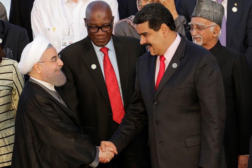 روحاني: مقاومة الشعبين الإيراني والفنزويلي أجهضت مؤامرات واشنطن