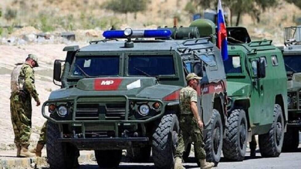 الشرطة العسكرية الروسية في شمال شرق سوريا