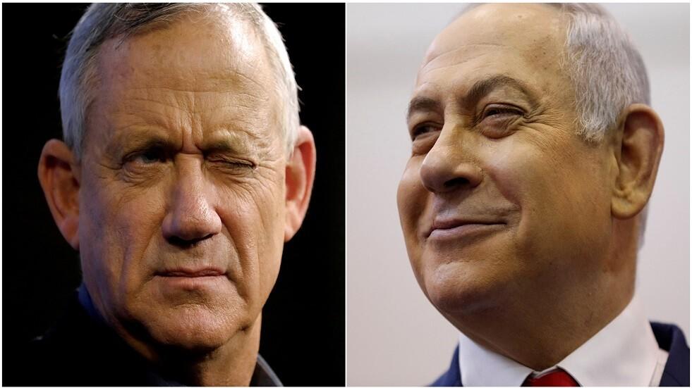 نتنياهو وغانتس يلتقيان في وزارة الأمن الإسرائيلية الأحد