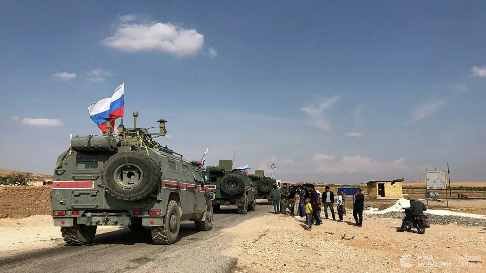 روسيا ترسل عربات مدرعة لشرطتها العسكرية في سوريا