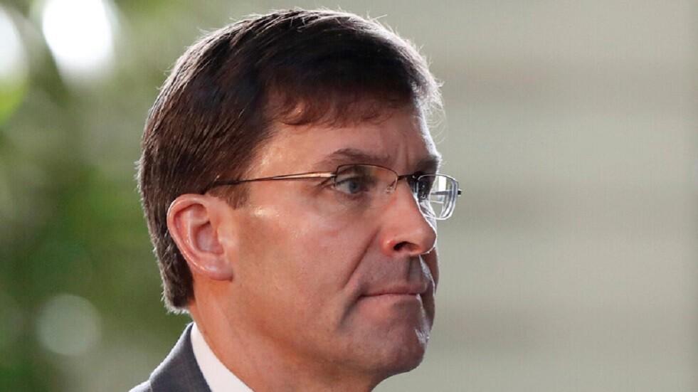 وزير الدفاع الأمريكي يتوعد بملاحقة واصطياد كل من سيخلف البغدادي