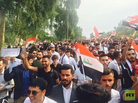 مراسلنا: بدء الاعتصامات الطلابية في عدد من المحافظات العراقية