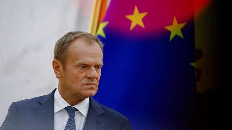 رئيس المجلس الأوروبي دونالد تاسك
