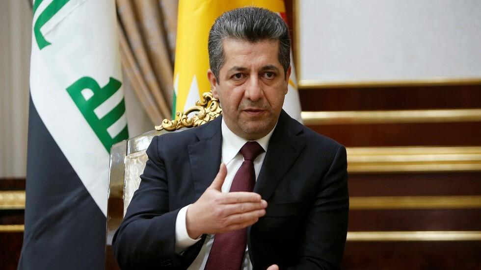 رئيس حكومة إقليم كردستان العراق مسرور بارزاني