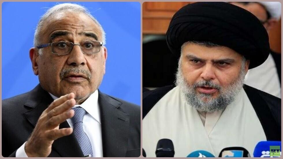 الصدر يطالب عبد المهدي بإعلان انتخابات برلمانية مبكرة
