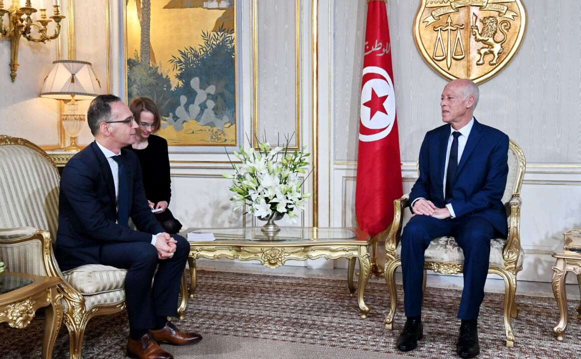 الرئيس التونسي يلتقي وزير الخارجية الألماني