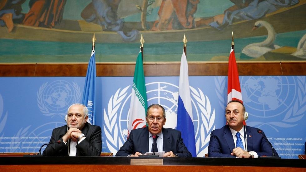 روسيا وتركيا وإيران: متفقون على وحدة أراضي سوريا ودعم اللجنة الدستورية