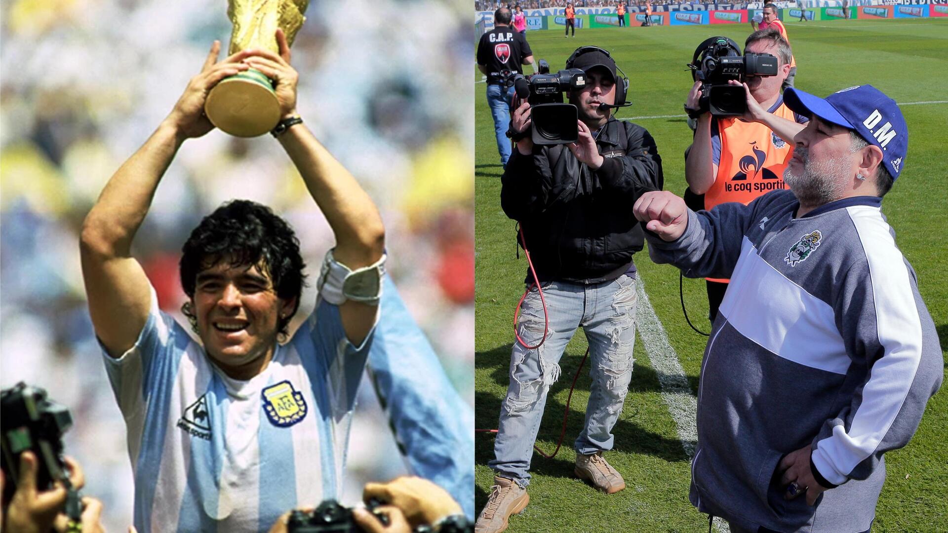بالفيديو..احتفال أسطوري بنجم الكرة الأرجنتينية مارادونا في عيد ميلاده الـ59