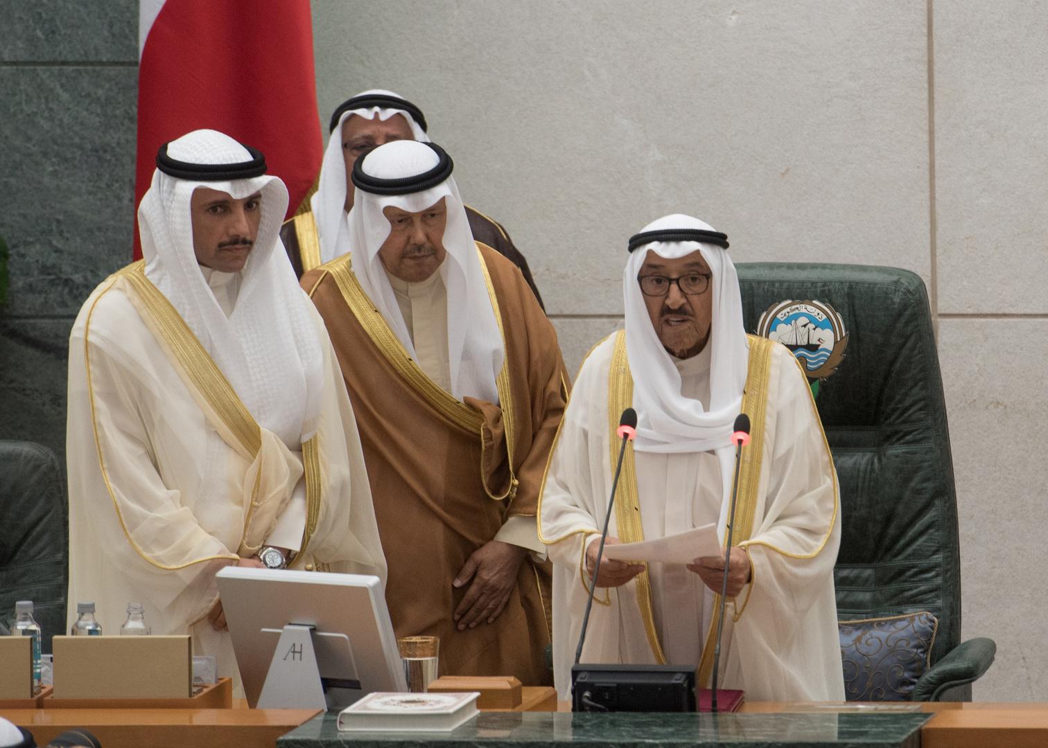 رسالة خطية من أمير الكويت إلى أمير قطر