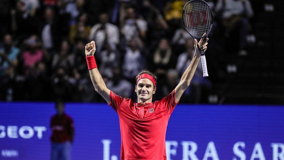 انسحاب فيدرر من النسخة الأولى لكأس العالم في التنس