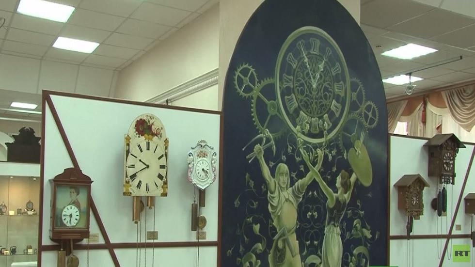 50 عاما على إنشاء متحف الساعات بأنغارسك