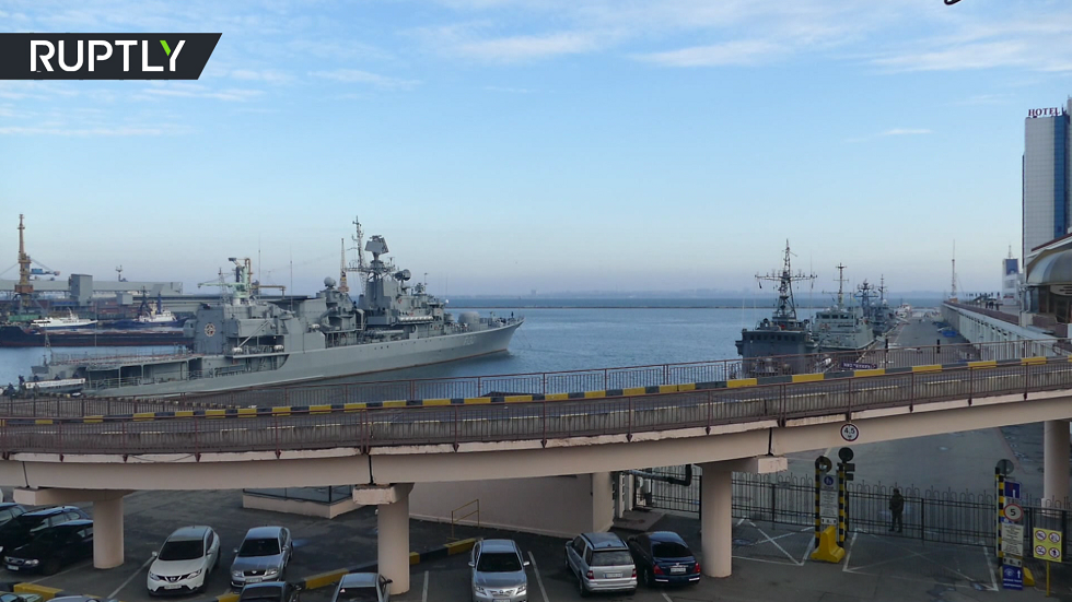4 سفن حربية للناتو تصل إلى أوكرانيا