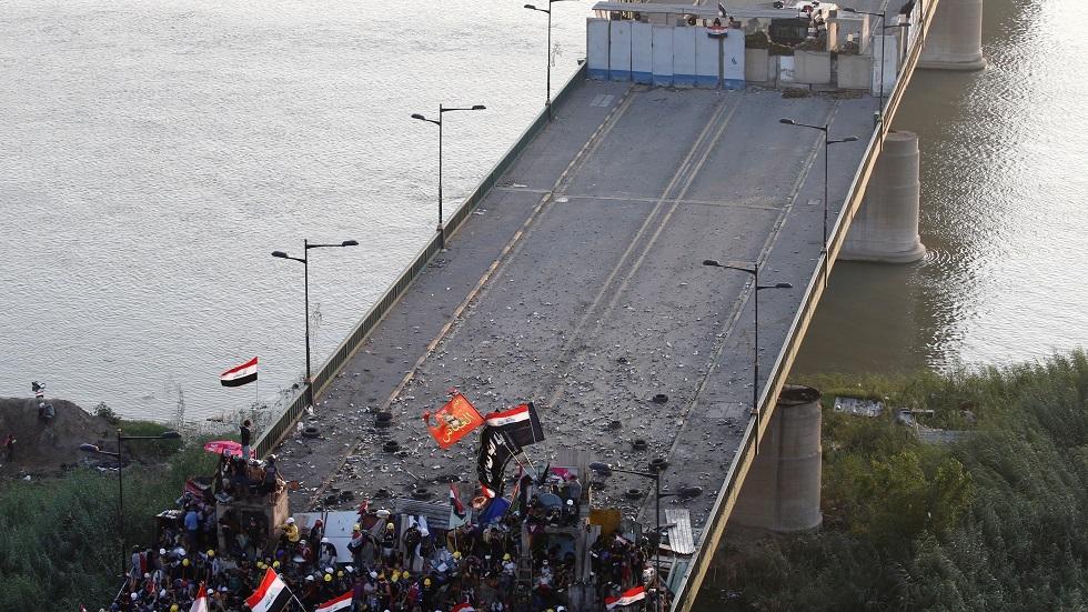 جسر الجمهورية ببغداد