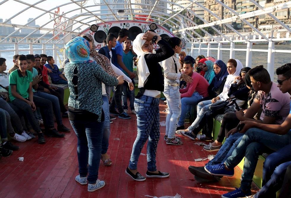 شباب مصريون -أرشيف-