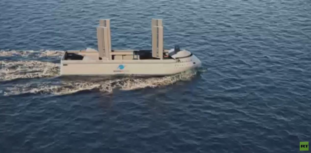 ابتكار أشرعة ضخمة للسفن للحد من التلوث