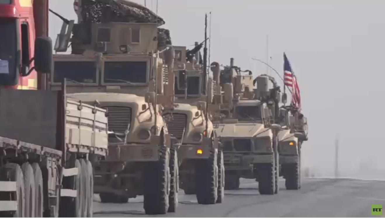 دورية أمريكية على الحدود مع تركيا