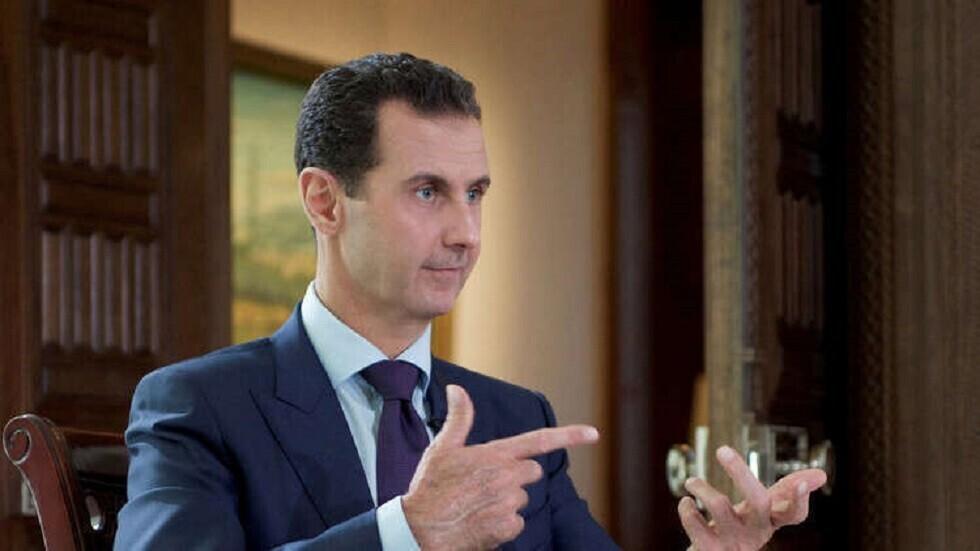 الأسد يتهم أردوغان بـ