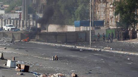 هدوء حذر في بغداد قبيل صلاة الجمعة بعد 3 أيام من الاحتجاجات الدامية