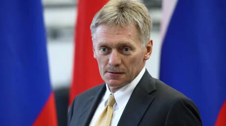 """بيسكوف: مقالة """"نيويورك تايمز"""" عن زعزعة الاستخبارات الروسية الاستقرار بأوروبا كـ """"قصة بوليسية"""""""