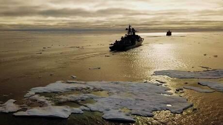 ما مصدر دقائق البلاستيك في الطريق البحري الشمالي؟